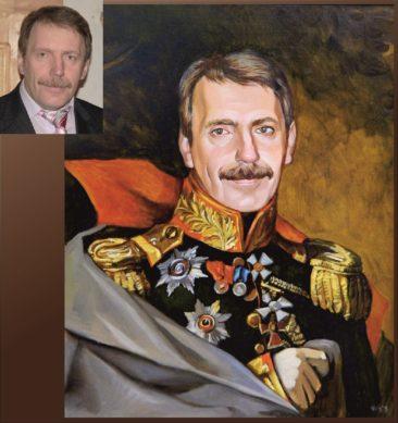 Настоящий портрет маслом на заказ в Душанбе…