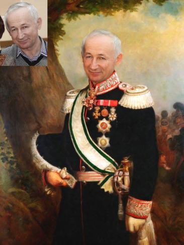 Где заказать исторический портрет по фото на холсте в Душанбе?