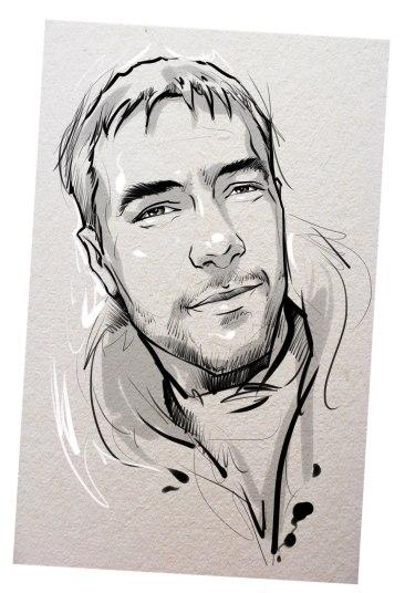 Портрет карандашом любимому мужу в Душанбе…