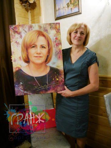 Портрет на заказ Душанбе